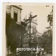 Fotografía antigua: FOTO ORIGINAL SEVILLA CRUZ DE LA SIERPES AÑO 1929. Lote 267606674