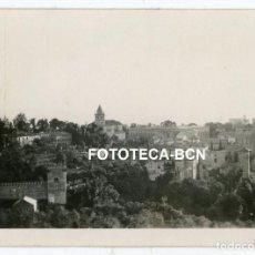 Fotografía antigua: FOTO ORIGINAL GRANADA VISTA DE LA ALHAMBRA AÑO 1929. Lote 267607264