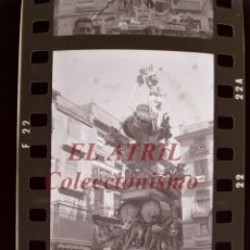 Fotografia antiga: VALENCIA - FALLAS - 6 ANTIGUOS CLICHES NEGATIVOS DE 35 MM EN CELULOIDE. Lote 268118829