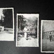 Fotografía antigua: FOTOS DE 9 X 6,5 CM - AÑOS 50 - MUJER POSANDO. Lote 268177249