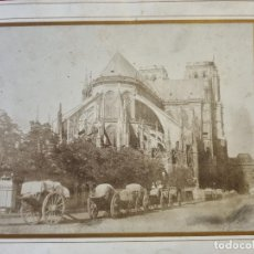 Fotografia antica: GRAN FOTO FOTOGRAFIA CATEDRAL DE NOTRE DAME PARIS FRANCIA ORIGINAL F14. Lote 268444284