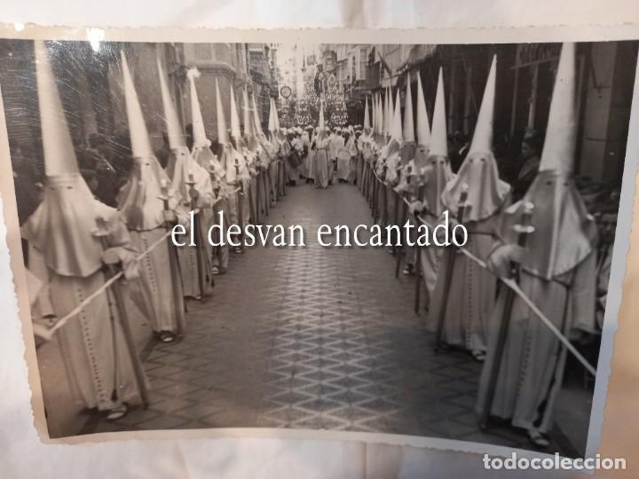 CARTAGENA. PROCESIÓN MARRAJOS. ABRIL 1941. CASAÚ FOTÓGRAFO. 18 X 13 CTMS (Fotografía Antigua - Fotomecánica)