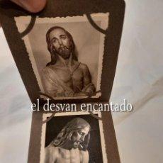 Fotografía antigua: CARTAGENA. LIBRETO 8 FOTOGRAFÍAS 8,5 X 6 CTMS. IMÁGENES Y PASOS DE SEMANA SANTA. H. 1940. Lote 268616479
