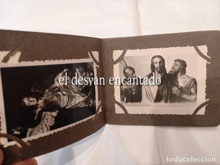 Fotografía antigua: CARTAGENA. Libreto 8 fotografías 8,5 x 6 ctms. Imágenes y pasos de Semana Santa. H. 1940 - Foto 4 - 268616479