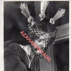 Fotografía antigua: SEMANA SANTA ROTA, CADIZ, ANTIGUA FOTOGRAFIA NTRO.PADRE JESUS NAZARENO, 18X24 CMS. Lote 268749894
