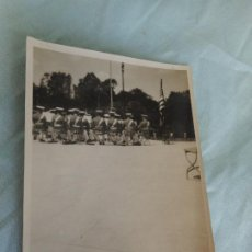 Fotografía antigua: ANTIGUA FOTOGRAFIA.BANDA DE MUSICA PRESIDENTE NORTEAMERICANO.EXPOSICION IBEROAMERICACA SEVILLA 1929. Lote 268909069