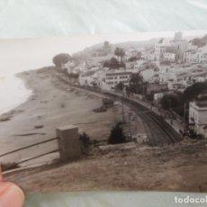 Fotografía antigua: ANTIGUA FOTOGRAFIA.VISTA SANT POL.SAN POL DE MAR.BARCELONA AÑOS 50.60. Lote 268909349