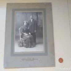 Fotografía antigua: ANTIGUA J.E. PUIG FOTO BARCELONA 1885. Lote 268916779