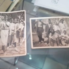 Fotografía antigua: ANTIGUAS FOTOGRAFIAS UNIFORMES MILITARES O SIMILAR ORIGEN MALLORCA. Lote 268933789