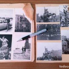 Fotografia antiga: FOTOGRAFÍAS FALLAS VALENCIA 1968 - FALLA ÁNFEL GUIMERÁ FALLA PLAZA DEL CAUDILLO Y PLAZA DEL PILAR. Lote 269002399