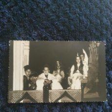 Fotografía antigua: ANTIGUA FOTOGRAFIA FIESTAS MOROS Y CRISTIANOS VILLENA FOTOGRAFO LOZANO VALENCIS 1965. Lote 269249063