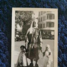 Fotografía antigua: ANTIGUA FOTOGRAFIA FIESTAS MOROS Y CRISTIANOS VILLENA FOTOGRAFO IBAÑEZ ALICANTE 1957. Lote 269251063