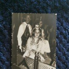 Fotografía antigua: ANTIGUA FOTOGRAFIA FIESTAS MOROS Y CRISTIANOS VILLENA FOTOGRAFO LOZANO VALENCIA 1965. Lote 269251353