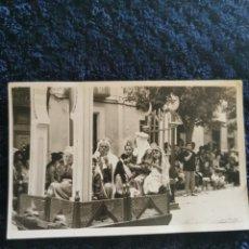 Fotografía antigua: ANTIGUA FOTOGRAFIA FIESTAS MOROS Y CRISTIANOS VILLENA FOTOGRAFO SOLI VILLENA 1960. Lote 269251778