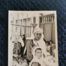 Fotografía antigua: ANTIGUA Y GRAN FOTOGRAFIA FIESTAS MOROS Y CRISTIANOS VILLENA FOTOGRAFO E.UTRILLA VALENCIA. Lote 269252528