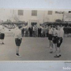 Fotografía antigua: CAMPO DE DEPORTE DEL ANTIGUO SIQUIATRICO DE CADIZ , 1959. Lote 269467718