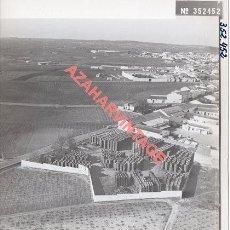 Fotografia antica: BOLLULLOS DEL CONDADO,HUELVA, ANTIGUA FOTOGRAFIA,VISTA AEREA, PAISAJES ESPAÑOLES,128X178MM. Lote 269608253