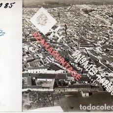 Fotografia antica: BOLLULLOS DEL CONDADO,HUELVA, ANTIGUA FOTOGRAFIA,VISTA AEREA, PAISAJES ESPAÑOLES,128X178MM. Lote 269609073