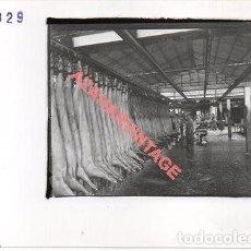 Fotografía antigua: JABUGO, HUELVA, ANTIGUA FOTOGRAFIA INSTALACIONES DE SANCHEZ ROMERO CARVAJAL, 178X128MM. Lote 269611133