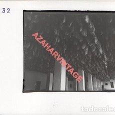 Fotografía antigua: JABUGO, HUELVA, ANTIGUA FOTOGRAFIA INSTALACIONES DE SANCHEZ ROMERO CARVAJAL, 178X128MM. Lote 269611253