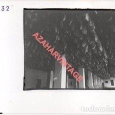 Fotografía antigua: JABUGO, HUELVA, ANTIGUA FOTOGRAFIA INSTALACIONES DE SANCHEZ ROMERO CARVAJAL, 178X128MM. Lote 269611388