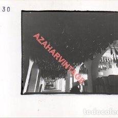 Fotografía antigua: JABUGO, HUELVA, ANTIGUA FOTOGRAFIA INSTALACIONES DE SANCHEZ ROMERO CARVAJAL, 178X128MM. Lote 269611548