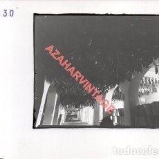 Fotografía antigua: JABUGO, HUELVA, ANTIGUA FOTOGRAFIA INSTALACIONES DE SANCHEZ ROMERO CARVAJAL, 178X128MM. Lote 269611693