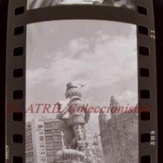 Fotografía antigua: VALENCIA - FALLAS - 40 ANTIGUOS CLICHES NEGATIVOS DE 35 MM EN CELULOIDE. Lote 269699333