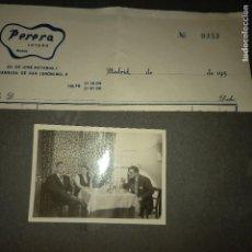 Fotografía antigua: ANTIGUO ÁLBUM 45 FOTOGRAFÍAS JOYEROS JOYERÍA PERERA MADRID. Lote 269776518