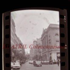 Fotografía antigua: VALENCIA - FALLAS - 20 ANTIGUOS CLICHES NEGATIVOS DE 35 MM EN CELULOIDE. Lote 270003028