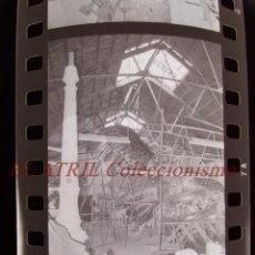 Fotografía antigua: VALENCIA - FALLAS - 18 ANTIGUOS CLICHES NEGATIVOS DE 35 MM EN CELULOIDE. Lote 270003383
