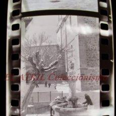 Fotografía antigua: ALCALA DE LA SELVA, TERUEL - VISTAS - 36 ANTIGUOS CLICHES NEGATIVOS DE 35 MM EN CELULOIDE, AÑO 1978. Lote 270094168