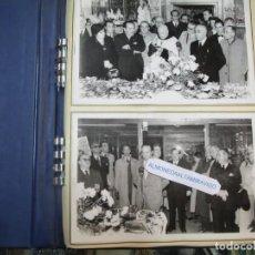 "Fotografía antigua: VIGO, MOISES ALVAREZ, SANTA CLARA, PORCELANAS ""INAUGURACION SUCURSAL PONTEVEDRA 1955? 13 FOTOS. +. Lote 273281728"