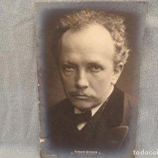 Fotografía antigua: FOTO- POSTAL DE RICHARD STRAUSS. ALBERT MEYER, BERLÍN.. Lote 273286393