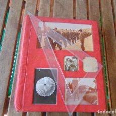 Fotografía antigua: ALBUM DE FOTOGRAFIAS DE EL EJERCITO ESPAÑOL, PARACAIDISTAS, PARACAIDISMO. Lote 274282448