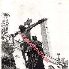 Fotografía antigua: SEMANA SANTA SEVILLA, ESPECTACULAR FOTOGRAFIA MISTERIO DE LAS AGUAS, 18X24 CMS. Lote 276363043