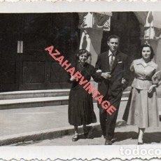Fotografia antica: MALAGA, 1955, ESCENA DE CALLE, 118X70MM. Lote 276934543