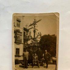 Fotografía antigua: FOTO. EN LA PLAZA DE LA CERRAJERÍA DE SEVILLA. FOTÓGRAFO?.. Lote 277262548