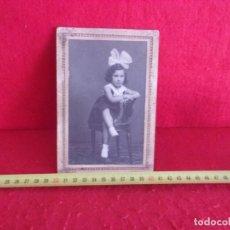 Fotografía antigua: FOTO ANTIGUA EN CARTON CIRCA 1900. Lote 277273128