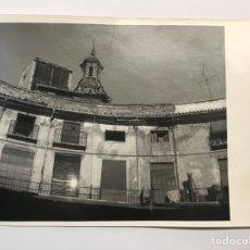 Fotografía antigua: FOTOGRAFÍA, PLAZA REDONDA VALENCIA. DETALLES DE LA PLAZA, ANTES DE LAS REFORMAS (H.1960?). Lote 277305823