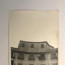 Fotografía antigua: FOTOGRAFÍA, PLAZA REDONDA VALENCIA. DETALLES DE LA PLAZA, ANTES DE LAS REFORMAS (H.1960?). Lote 277305853
