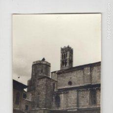 Fotografía antigua: SEU D'URGELL / SEO DE URGEL. VISTA PARCIAL DE LA CATEDRAL (TAMAÑO 8´8 X 12´5). Lote 277513813
