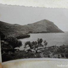 Fotografía antigua: ANTIGUA FOTOGRAFIA.CABO NORFEU.ROSAS.GERONA 1950. Lote 277515813