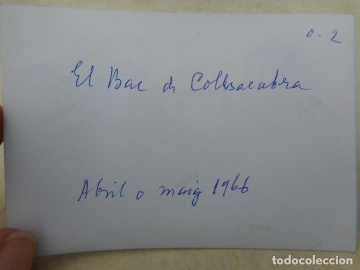 Fotografía antigua: ANTIGUA FOTOGRAFIA.BAR DE COLLSACABRA.GERONA 1966 - Foto 2 - 277517423