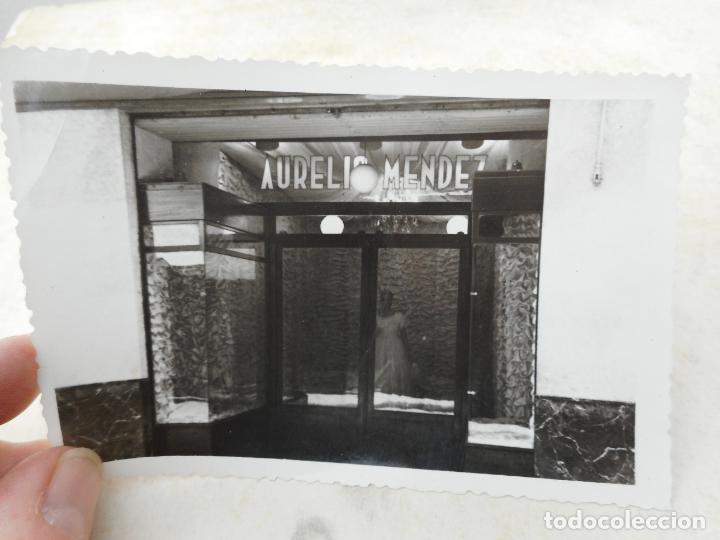ANTIGUA FOTOGRAFIA.ALMACENES TIENDA AURELIO MENDEZ.CARTAGENA. AÑOS 50?? (Fotografía Antigua - Fotomecánica)