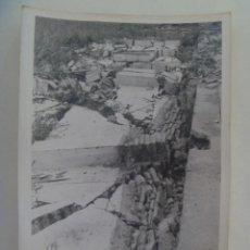 Fotografía antigua: FOTO DE SOLAR EN RUINAS ( CREO QUE ES EL POLIGONO SAN PABLO DE SEVILLA ) ... 12 X 18 CM. Lote 277534303