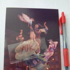Fotografía antigua: GRAN FOTO FOTOGRAFIA DETALLE DE LA FALLA ANTIGA CAMPANAR NOCTURNA - 1991 - FALLAS DE VALENCIA. Lote 277641113