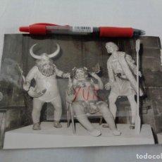 Fotografía antigua: FOTOGRAFIA DE NINOTS DE FALLA PLAZA DE LA MERCED DE 1966 EN LA EXPOSICION DEL NINOT -FALLAS VALENCIA. Lote 277654963