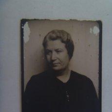 Fotografía antigua: FOTOMATON DE SEÑORA , SEVILLA, 1937. Lote 277723673