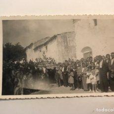 Fotografía antigua: FOTOGRAFÍA, FESTIVIDAD DEL NIÑO JESUS DE PRAGA., PROCESIÓNES Y ROGATIVAS.. (H.1950?). Lote 277844233